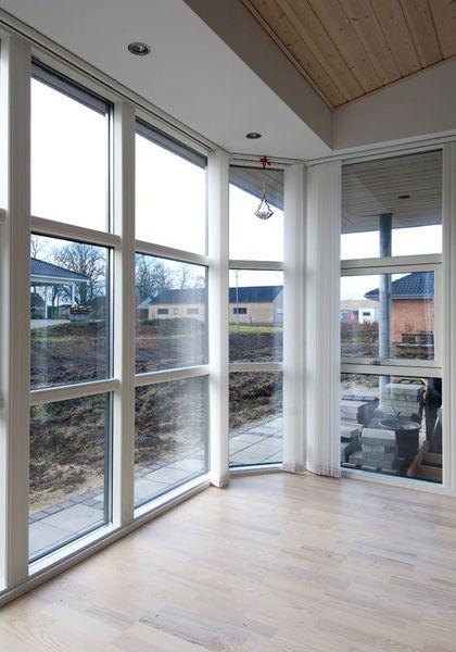 Nybygget parcelhus - priser på udskiftning af vinduer og døre